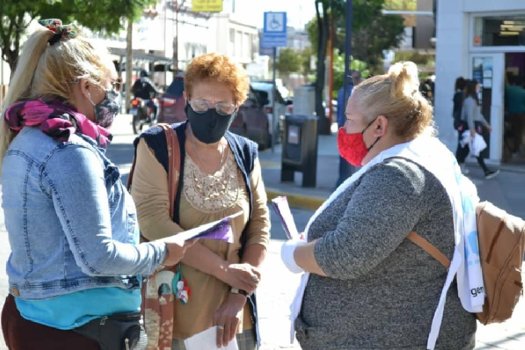 barrios de pie promocion covid - Promotoras comunitarias informaron sobre las medidas de bioseguridad