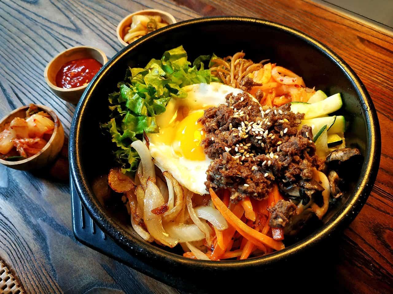 bibimbap 4887417 1280 - La receta del finde: cocina asiática