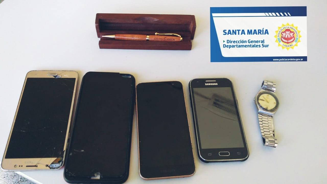 celulares - Barrio Lalahenes: Realizaron dos allanamientos positivos y un aprehendido