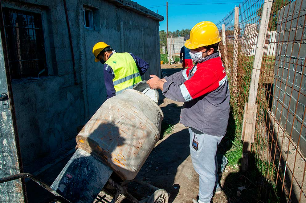 labonita 2 - La Economía Popular trabaja para terminar Viviendas Semillas