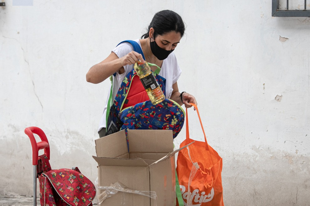 paicor - Paicor: junto con los módulos alimentarios se entregarán kits de barbijos