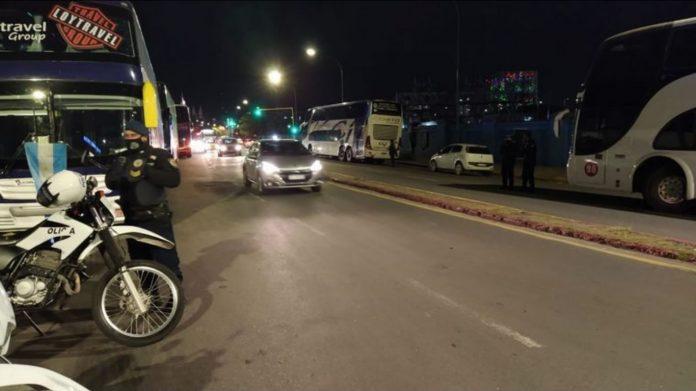 protesta cba transporte - Protesta de transportistas en Córdoba por las restricciones