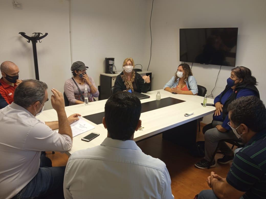 reunion odis salud desarrollo - Se desarrolló una reunión con el Observatorio para Personas con Discapacidad (ODis)