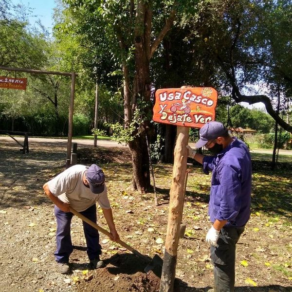 valle de anisacate obras - Valle de Anisacate: Informaron de las tareas realizadas hasta la fecha