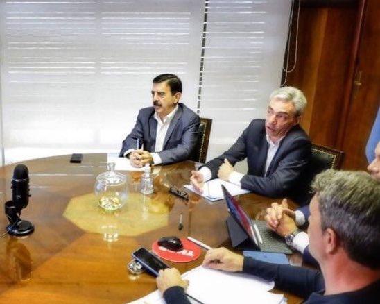 walter saieg mario meoni - Walter Saieg expresó sus condolencias por la muerte del Ministro de Transporte Mario Meoni