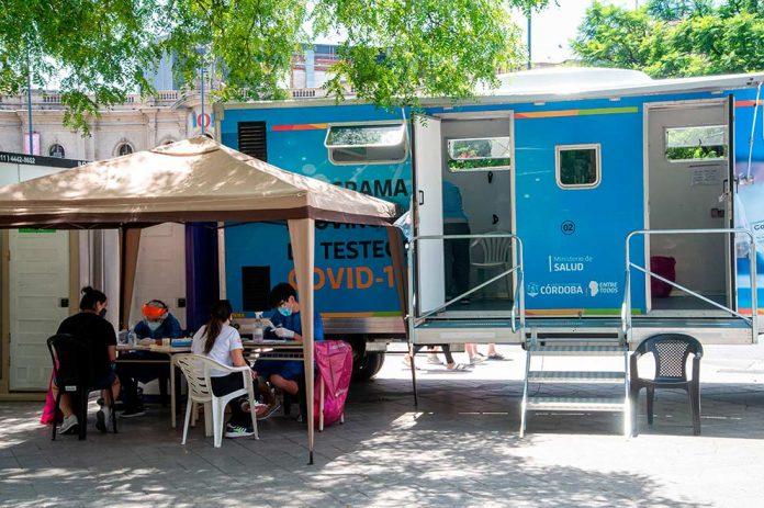 Test Covid gno cba - Córdoba: 78,1% de camas ocupadas, 35 muertos y 4.933 casos