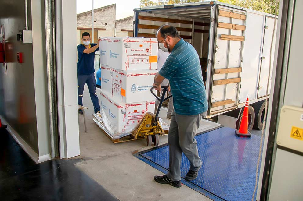 Vacuna - Córdoba recibió nuevas dosis de la vacuna Sputnik V