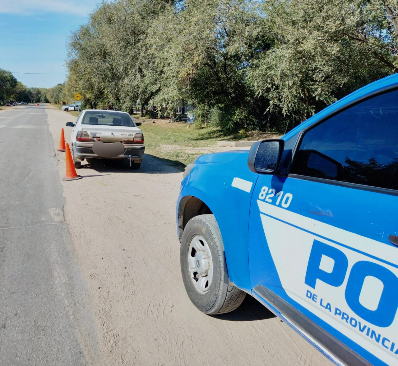 accidente E56 - Una mujer fue atropellada en Ruta E-56