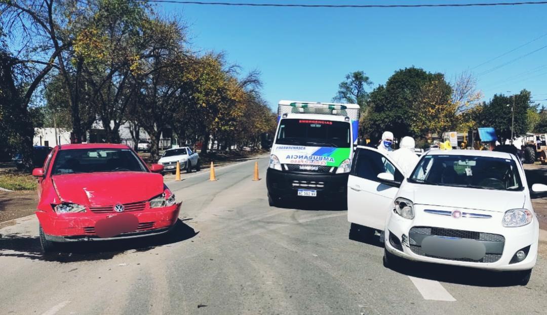 accidente anisacate - Un hombre herido tras choque en Ruta 5