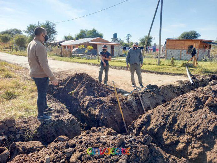anisacate - 5000 metros nuevos de Red de Agua Potable y la llegada a Villa Río