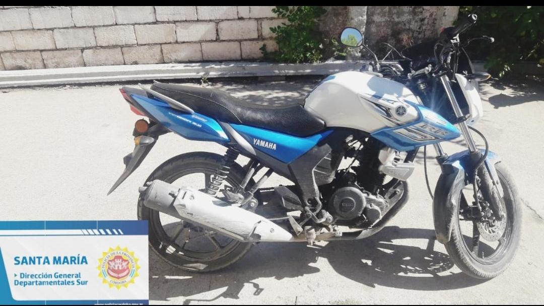 moto encontrada en cordoba - Encontraron en Córdoba Capital, una moto robada en Alta Gracia