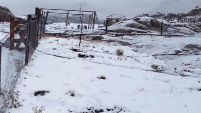 nevada en las altas cumbres nuestro clima - Las Altas Cumbres fueron escenario de una intensa nevada