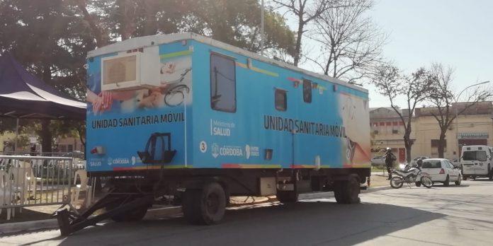 unidad sanitaria movil plaza mitre - Descenso en los casos de covid en Alta Gracia
