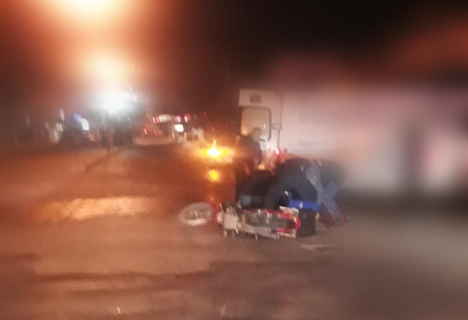 WhatsApp Image 2021 06 09 at 07.43.29 - Motociclista lesionado tras protagonizar un accidente