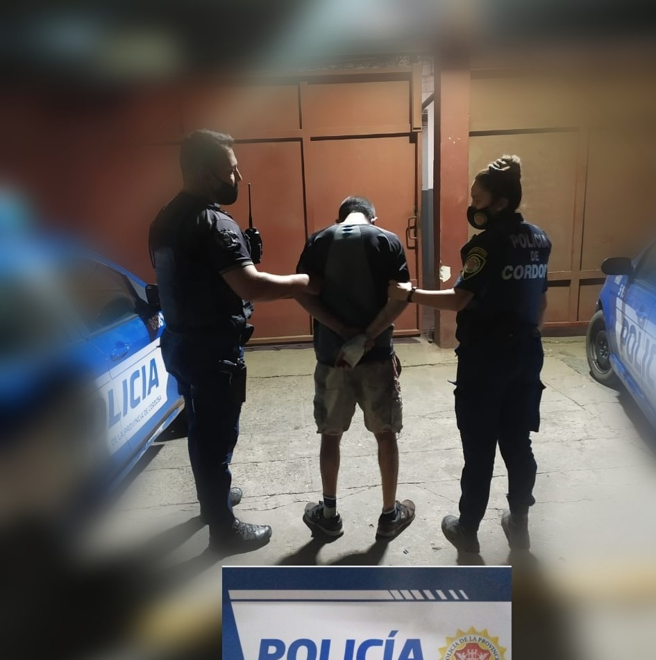 detenido violencia de genero 2 - Activó el botón antipánico y su agresor fue detenido