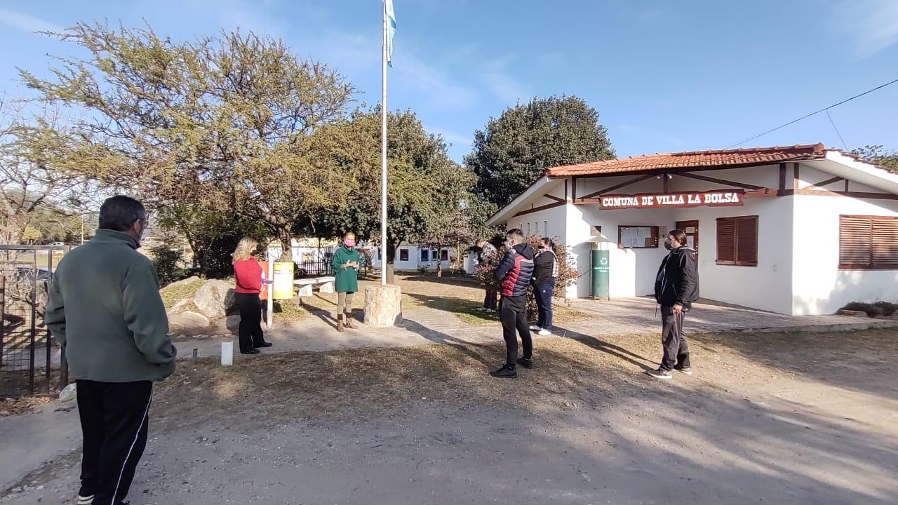 dialogo la bolsa - Villa La Bolsa: El Ejecutivo comunal habló sobre las restricciones con comerciantes