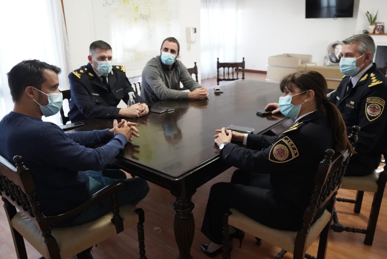reunion torres comisaria - El Intendente Torres recibió a la Jefa de la Policía de Córdoba