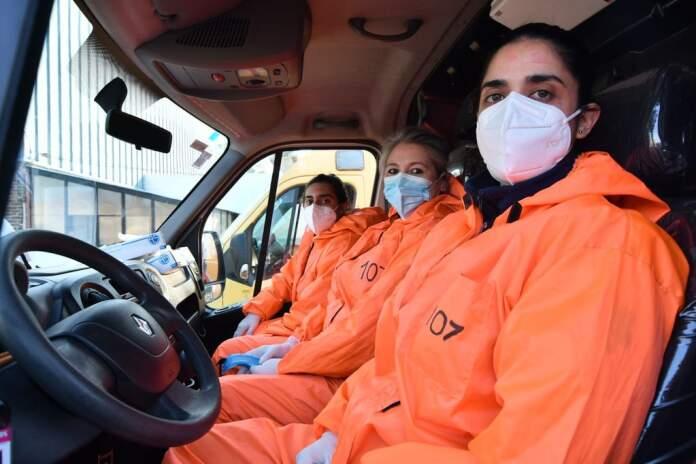107 servicio de emergencias - Córdoba: el servicio de emergencias 107 ya tiene a su primera mujer chofer