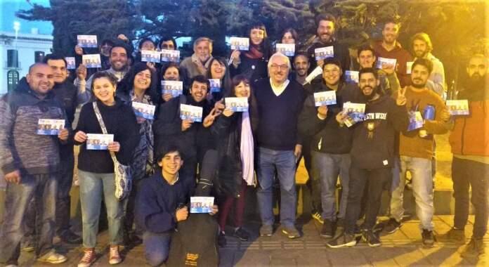 FRENTE DE TODOS 2019 HEREDIA ARCHIVO - El Frente de Todos activó en Santa María