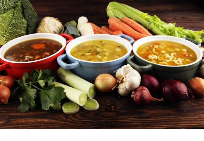 Tipos de sopa - Sopas.... manjar para todos los gustos