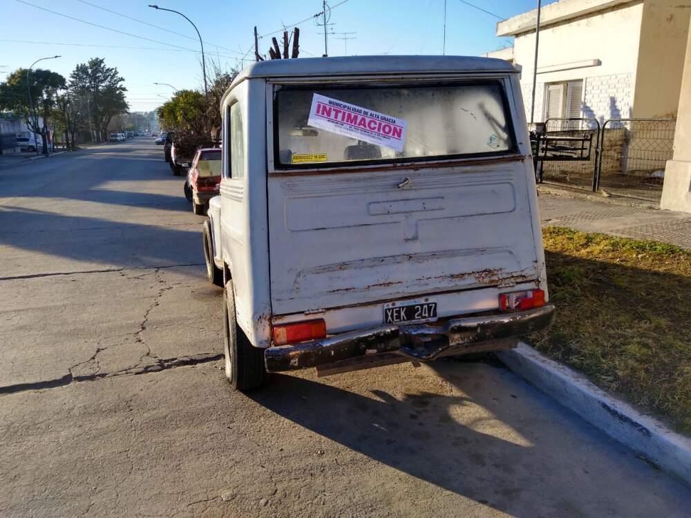 WhatsApp Image 2021 07 06 at 17.32.07 - El Municipio retirará de las calles los autos abandonados