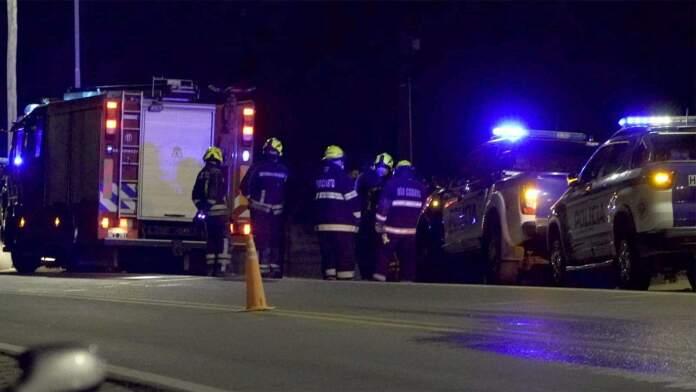 accidente fatal rio cuarto andres oviedo puntal - Fallecieron cuatro personas tras el despiste de una camioneta en la ruta 30
