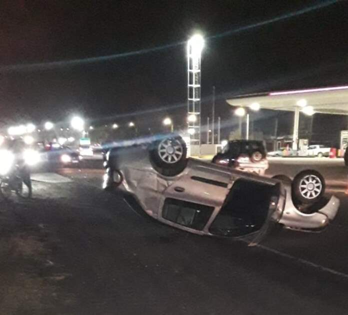 accidente ruta 5 2 - Impactante accidente sobre Ruta 5