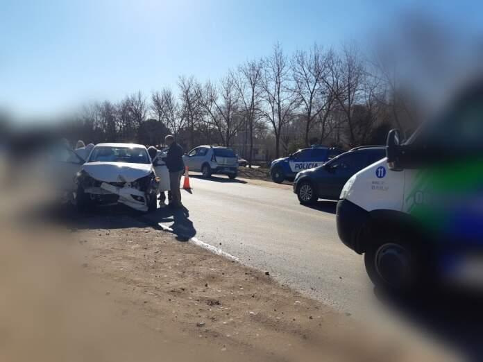 accidente ruta 5 anisacate - Mujeres heridas por un accidente de tránsito