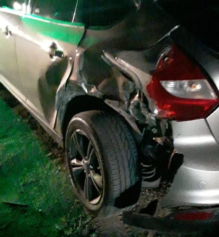 accidente ruta 5 ford focus 2 - Impactante accidente sobre Ruta 5