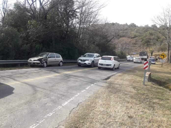 accidente villas ciudad de america - Villas Ciudad de América: Ocurrió un accidente de tránsito