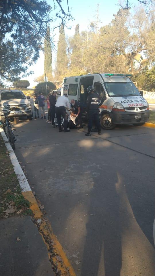 accidente - Ocurrió un accidente en Pellegrini esquina Lecuna