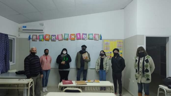 anisacate mozos - Anisacate: Está culminando el curso de mozos con proyección regional