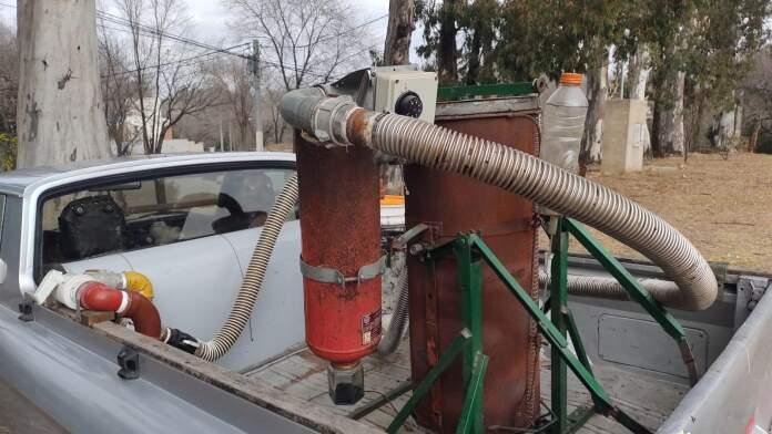 "auto basura delorean cordobes 2 - El ""DeLorean"" de Paravachasca"