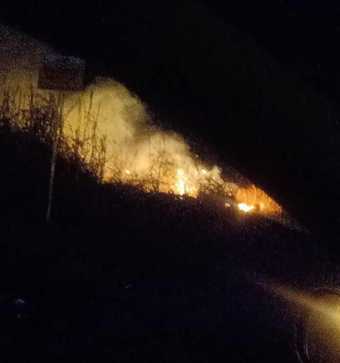 incendio ag - Principio de incendio en calle Cuba y Alfonsín