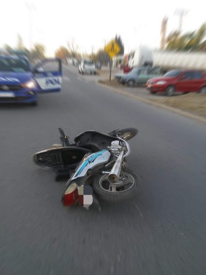 motocicleta accidente con lesionados - Alta Gracia: Ocurrió un accidente con lesionados