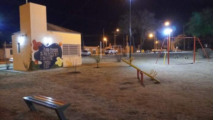 puesta en valor plaza barrio paravachasca alta gracia - Puesta en valor de la Plaza y distintos sectores de Barrio Portales del Sol