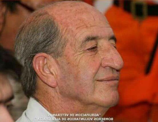 zaldivar bombero alta gracia e1626348428831 - En homenaje a Juan Zaldívar, Alta Gracia tendrá el Día del Bombero Veterano