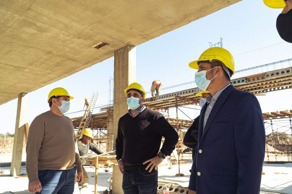 ESCUELA PROA2 - Avanzan las obras de construcción de la Escuela ProA
