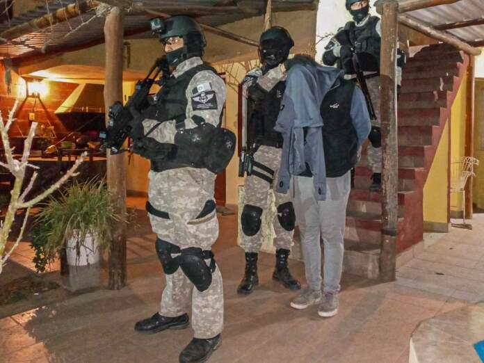 FPA OPERATIVOS SANTA FE CORDOBA - Desbarataron banda narco que operaba en Santa Fe y Córdoba