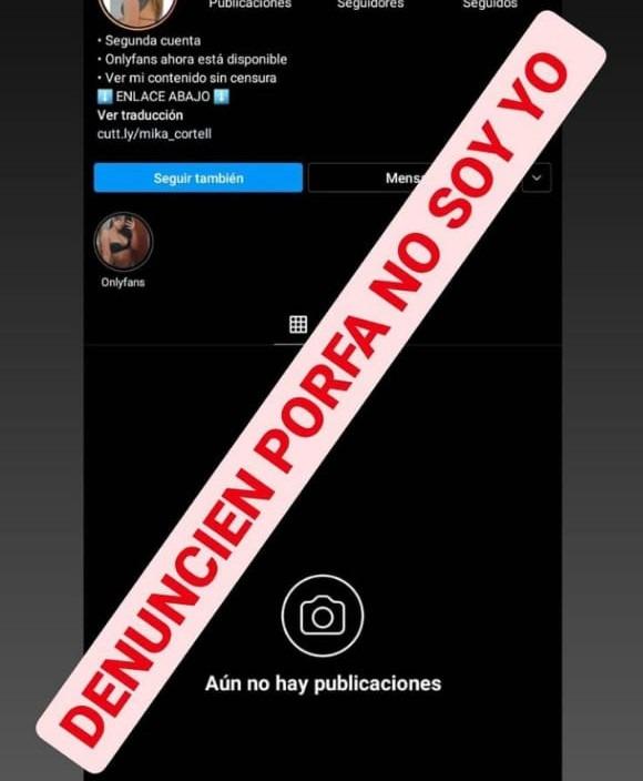IG robo cuentas 2 - Estafas virtuales: usan cuentas falsas de Instagram de jóvenes altagracienses
