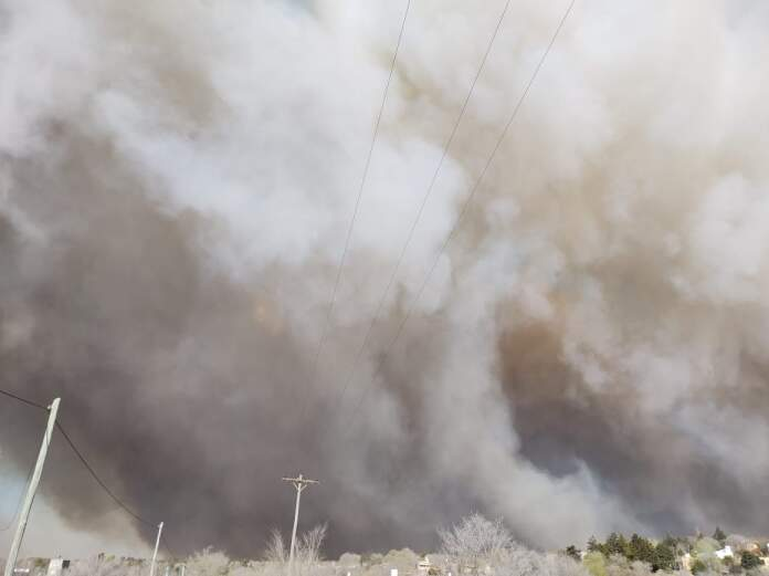 INCENDIO POTRERO DE GARAY - Incendios: Se dirige a Potrero de Garay