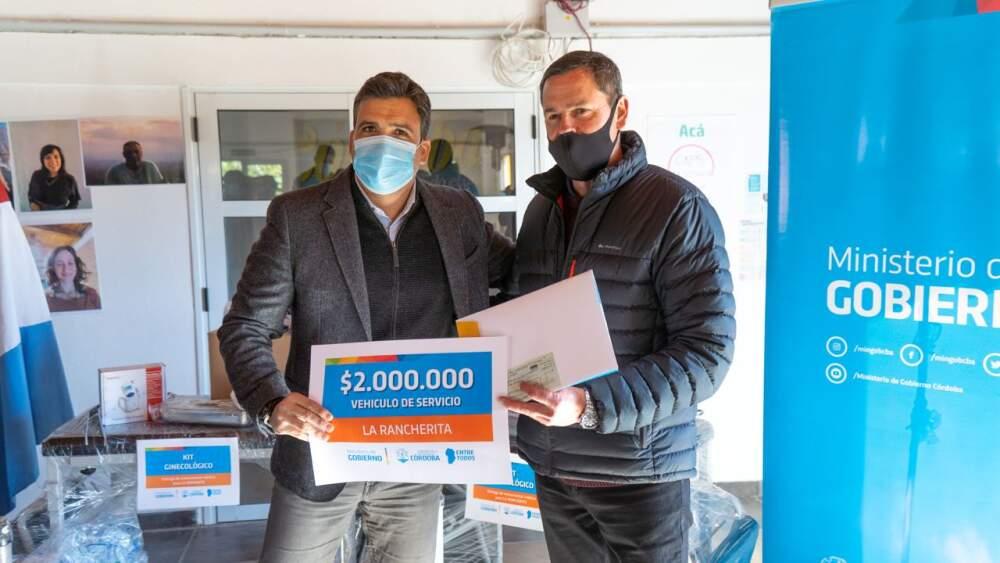 LA RANCHERITA FACUNDO - Departamento Santa María: Se realizaron entregas para las localidades