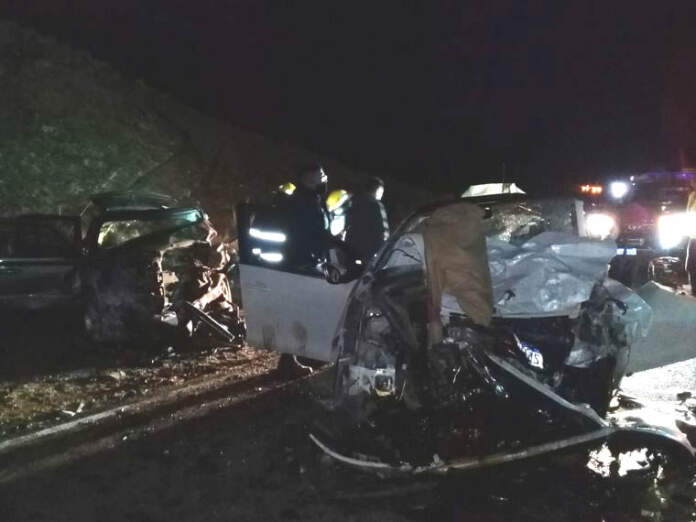 accidente fatal altas cumbres - En un accidente un altagraciense perdió la vida