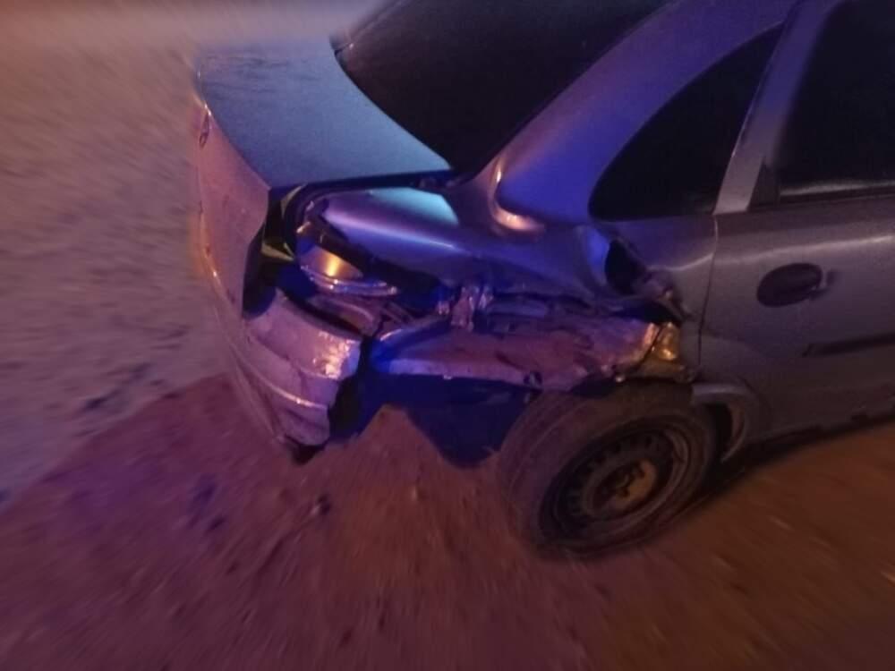 accidente ruta 5 a - Tras un fuerte accidente en la Ruta 5, tres personas con politraumatismos