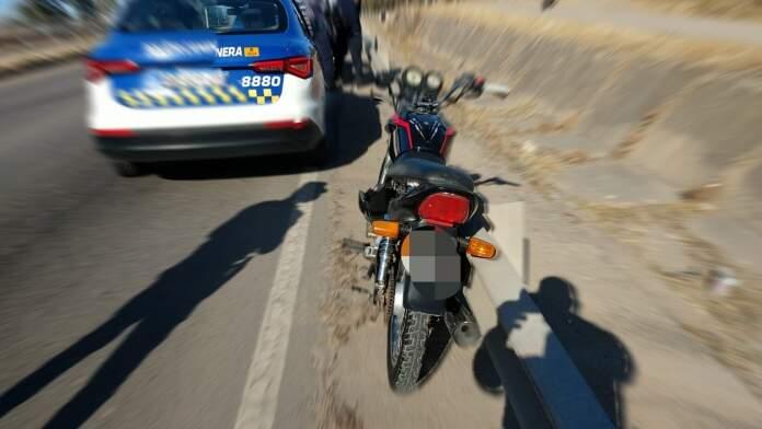 accidente villa del prado - Un hombre con fracturas luego de despistar en la ruta