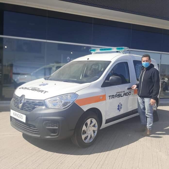 ambulancia la serranita - La Serranita adquirió una unidad de traslados de emergencia