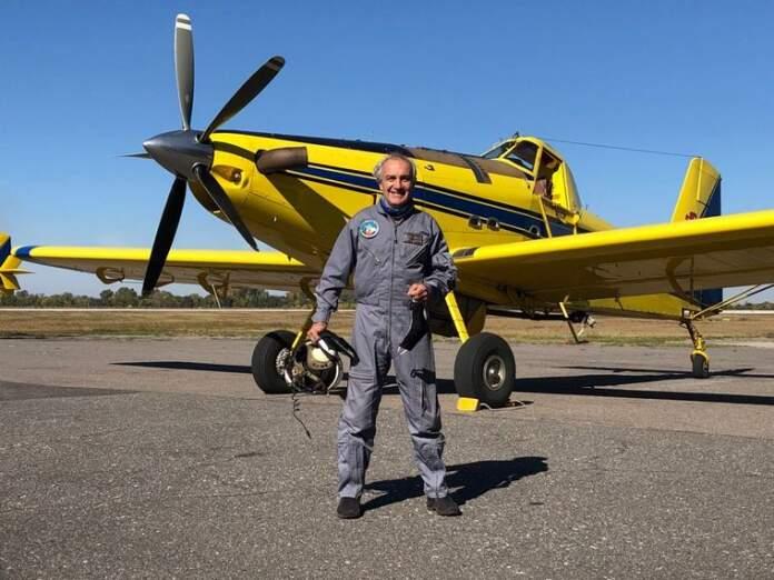 """avion hidrante - Piloto de avión hidrante: """"Siempre estamos al límite"""""""
