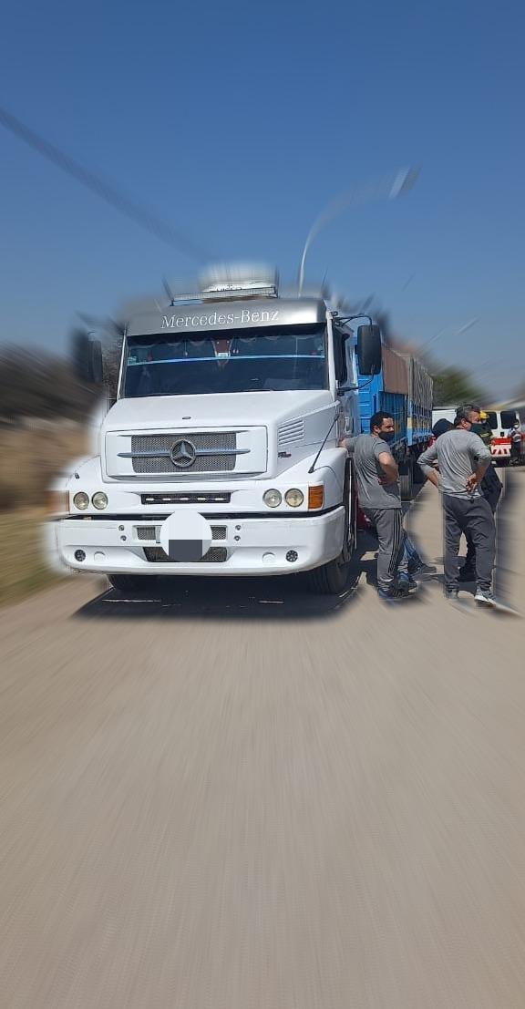 camion accidente nino - Despeñaderos: Un niño falleció al ser atropellado por un camión