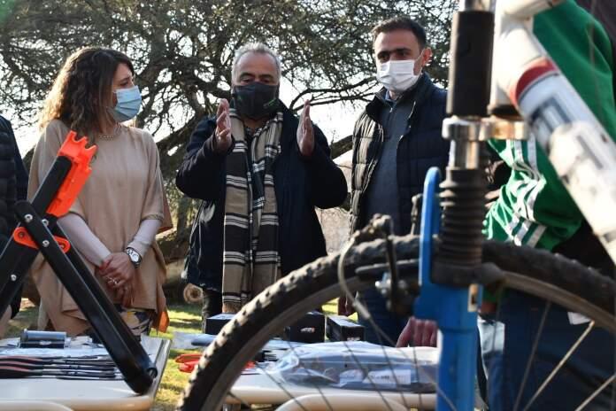 complejo esperanza bicicletas - Alojados en el Complejo Esperanza serán capacitados en reparación de bicicletas