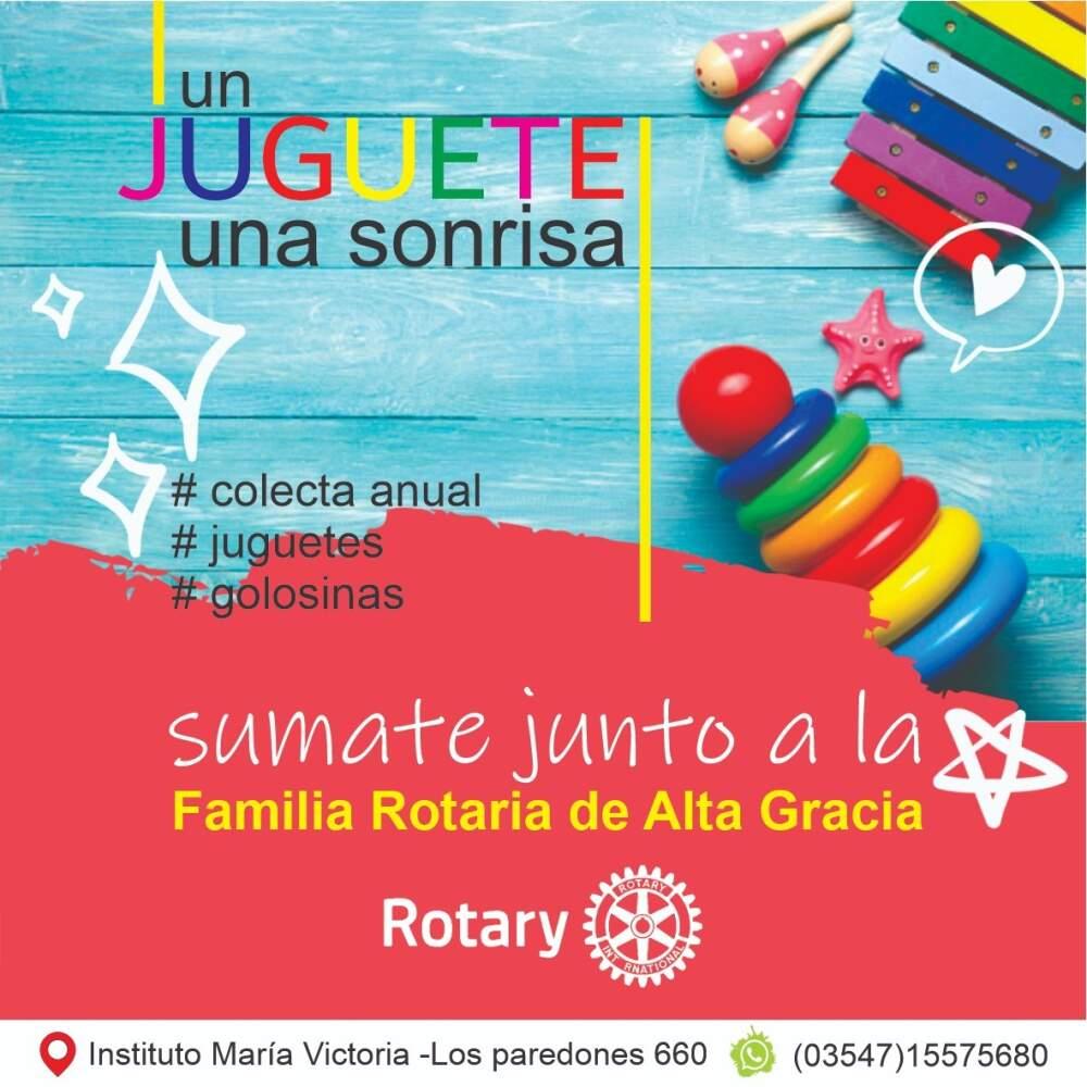 familia rotaria - Invitan a participar de la campaña: Un juguete, una sonrisa